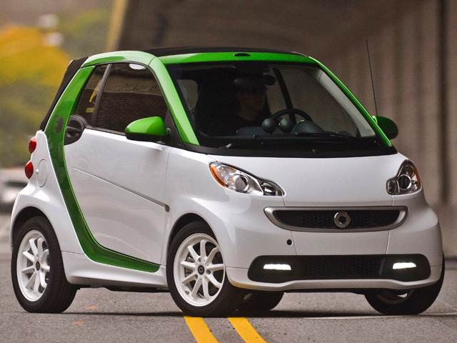 Most Fuel Efficient Coupes of 2015 - 2015 smart fortwo electric drive