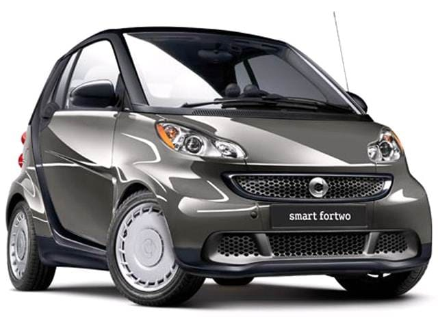 Most Fuel Efficient Coupes of 2015 - 2015 smart fortwo
