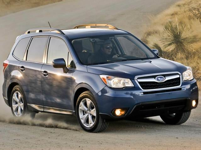 10 Most Affordable SUVs of 2015 - 2015 Subaru Forester