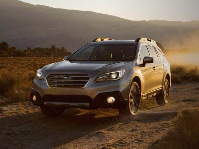 Best Safety Rated Wagons of 2015 - 2015 Subaru Outback