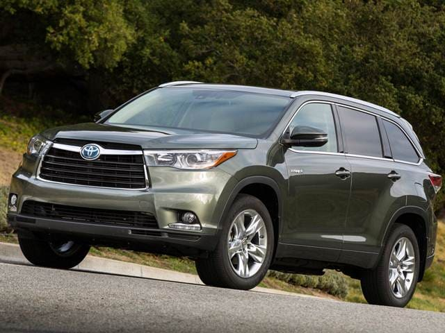 Best Safety Rated Hybrids of 2015 - 2015 Toyota Highlander