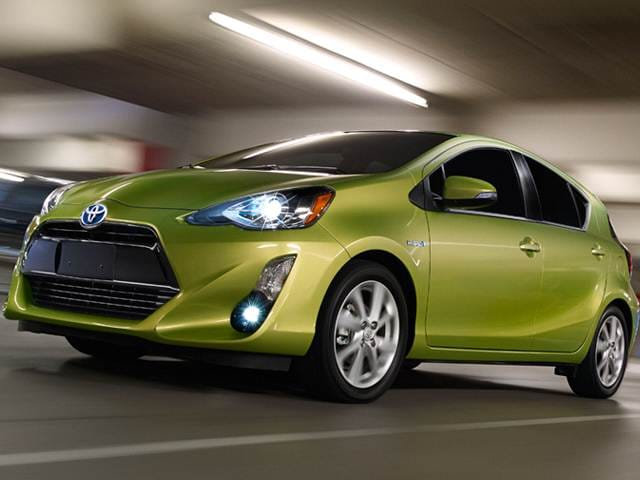 Most Fuel Efficient Hatchbacks of 2015 - 2015 Toyota Prius c