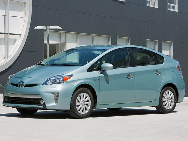 Most Fuel Efficient Hatchbacks of 2015 - 2015 Toyota Prius Plug-in Hybrid