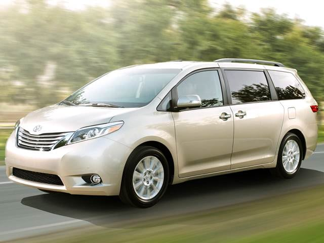Best Safety Rated Van/Minivans of 2015 - 2015 Toyota Sienna