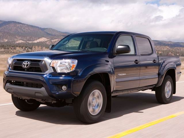 Most Popular Trucks of 2015 - 2015 Toyota Tacoma Double Cab