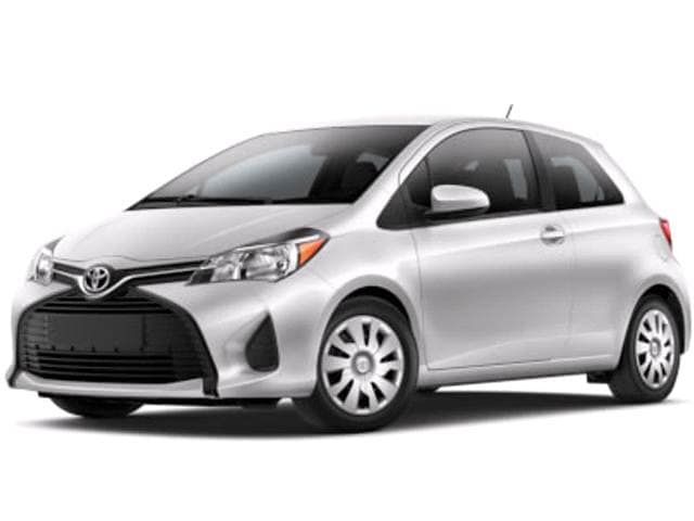 Most Fuel Efficient Coupes of 2015 - 2015 Toyota Yaris