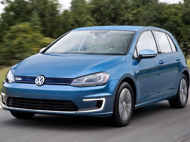 Most Fuel Efficient Hatchbacks of 2015 - 2015 Volkswagen e-Golf