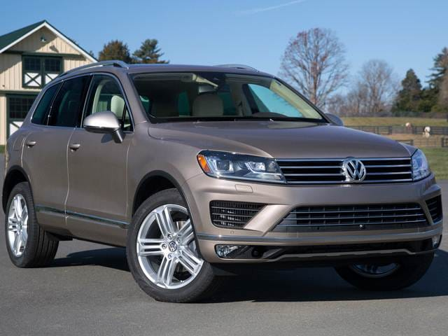 Top Consumer Rated SUVS of 2015 - 2015 Volkswagen Touareg