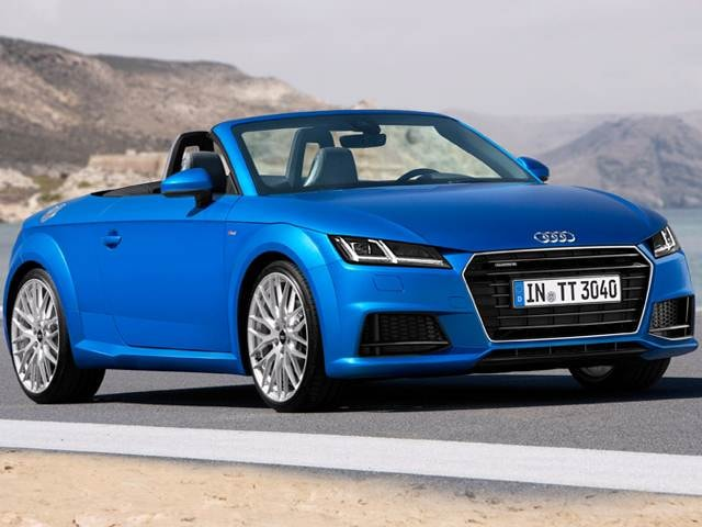 Top Consumer Rated Convertibles of 2016 - 2016 Audi TT