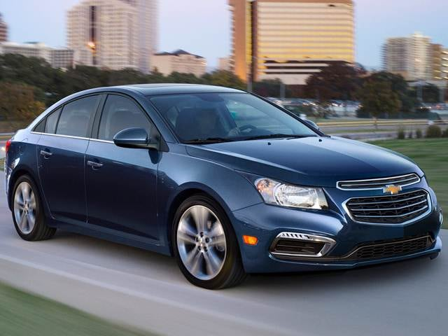 Most Popular Sedans of 2016 - 2016 Chevrolet Cruze Limited