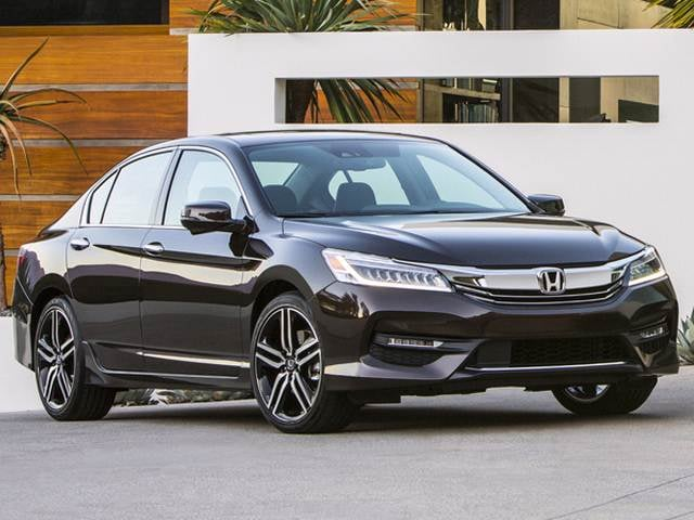 Most Popular Sedans of 2016 - 2016 Honda Accord