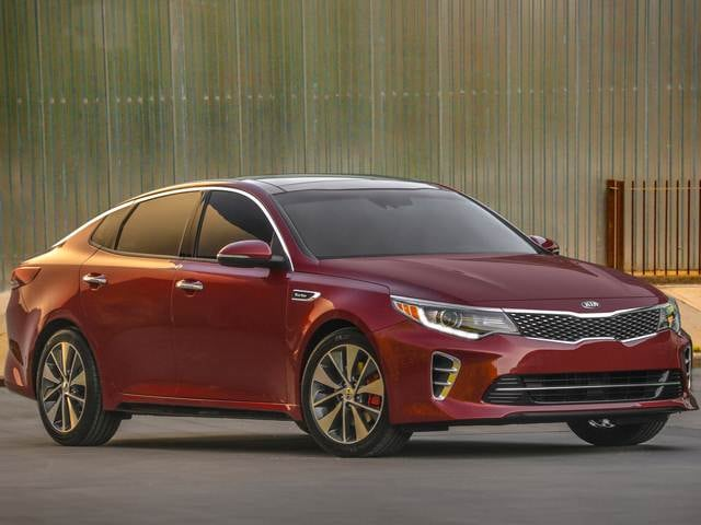 Best Safety Rated Sedans of 2016 - 2016 Kia Optima