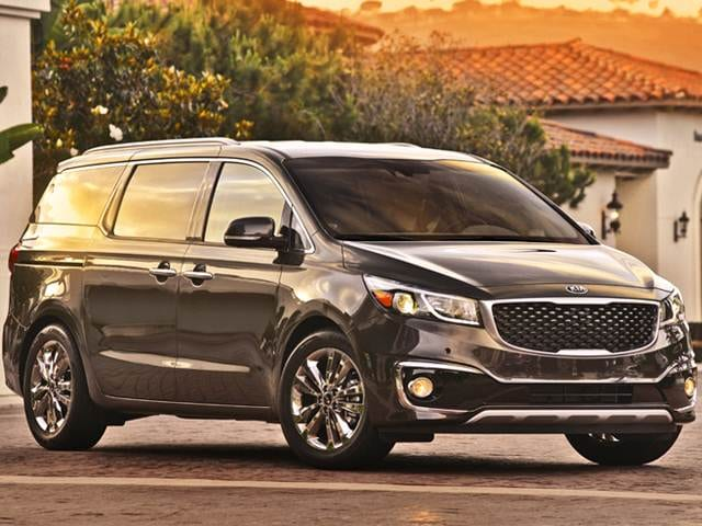 Top Expert Rated Van Minivans Of 2016 Kia Sedona