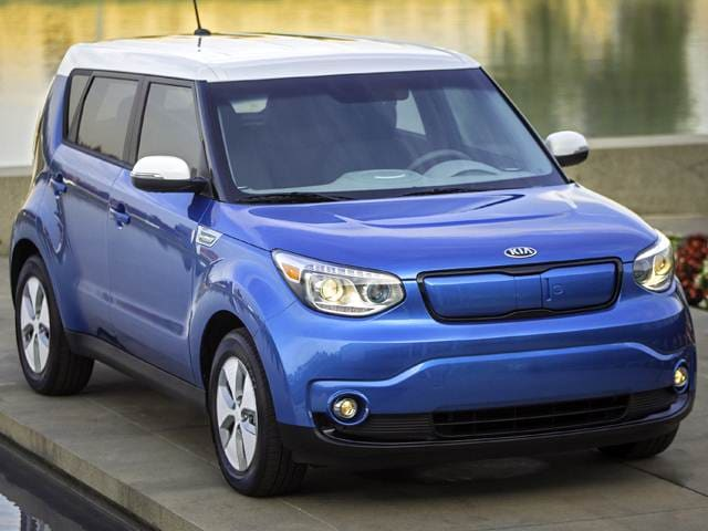 Most Fuel Efficient Hatchbacks of 2016 - 2016 Kia Soul EV