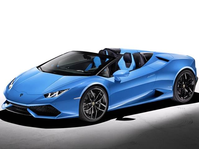 Top Consumer Rated Convertibles of 2016 - 2016 Lamborghini Huracan