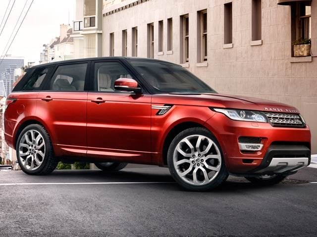 Highest Horsepower SUVS of 2016 - 2016 Land Rover Range Rover Sport
