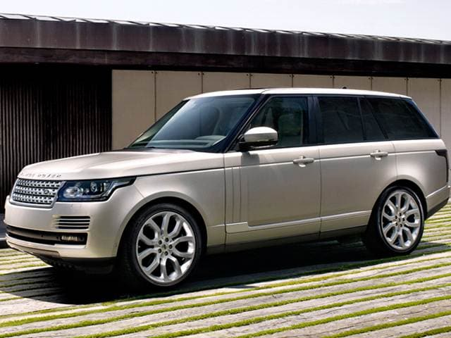 Highest Horsepower SUVS of 2016 - 2016 Land Rover Range Rover