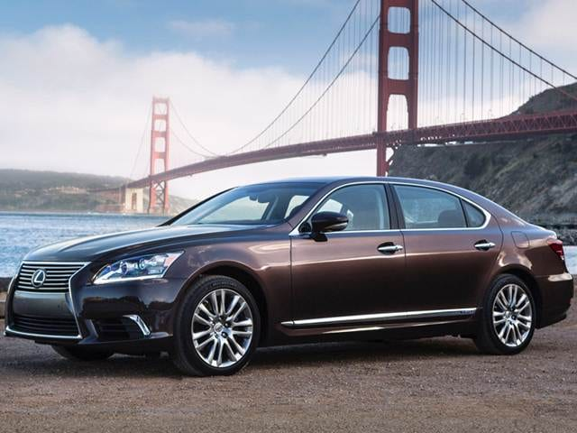 Most Popular Hybrids of 2016 - 2016 Lexus LS