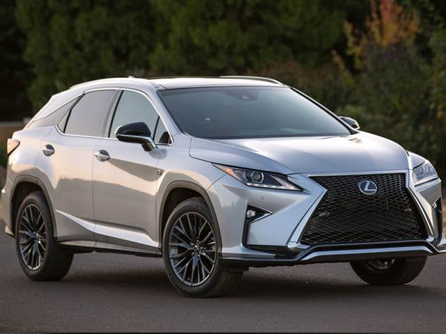 Top Expert Rated SUVS of 2016 - 2016 Lexus RX