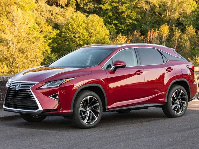 Most Fuel Efficient Crossovers Of 2016 Lexus Rx