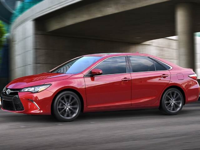 Most Popular Sedans of 2016 - 2016 Toyota Camry