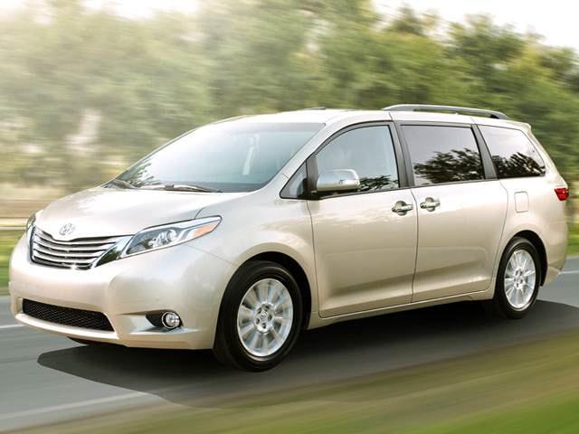 Top Expert Rated Van Minivans Of 2016 Toyota Sienna