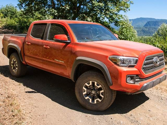 Top Expert Rated Trucks of 2016 - 2016 Toyota Tacoma Double Cab