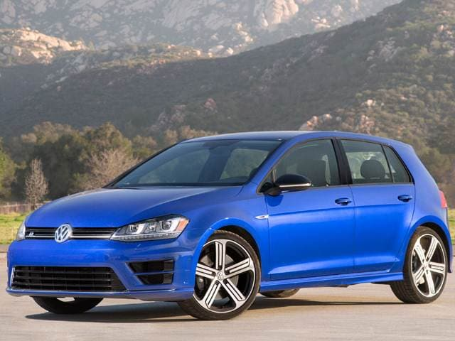 Top Consumer Rated Hatchbacks of 2016 - 2016 Volkswagen Golf R