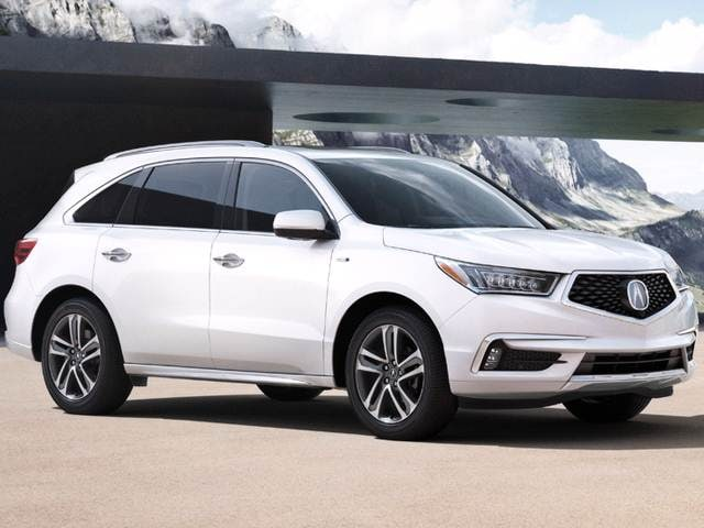 Best Safety Rated Luxury Vehicles Of 2017 Acura Mdx