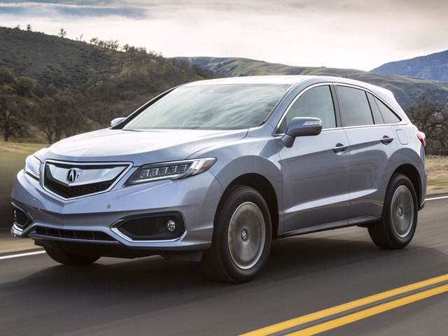 Most Popular Luxury Vehicles of 2017 - 2017 Acura RDX