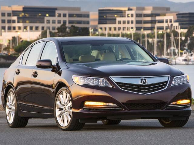 Highest Horsepower Hybrids of 2017 - 2017 Acura RLX Sport Hybrid