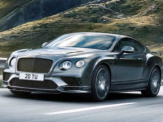 Highest Horsepower Coupes of 2017 - 2017 Bentley Continental