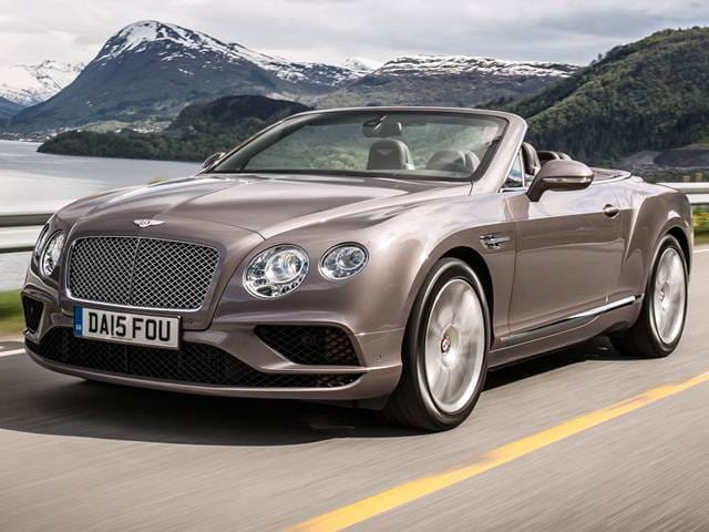 Top Consumer Rated Convertibles Of 2017 Bentley Continental
