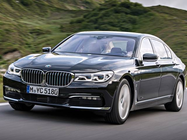 Highest Horsepower Electric Cars of 2017 - 2017 BMW 7 Series