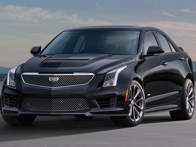 Top Consumer Rated Sedans of 2017 - 2017 Cadillac ATS-V