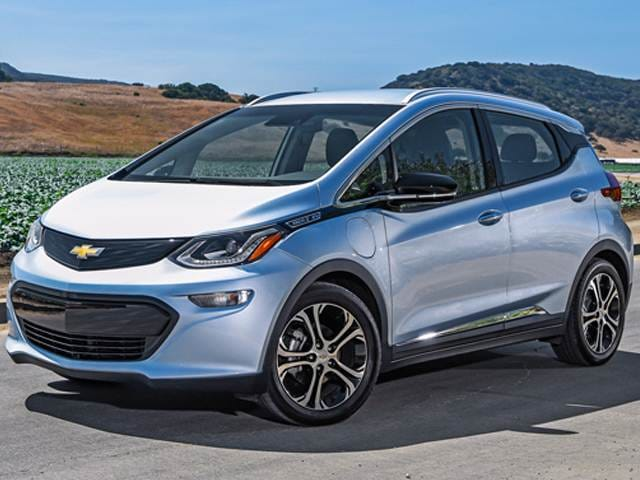 Most Fuel Efficient Electric Cars of 2017 - 2017 Chevrolet Bolt EV