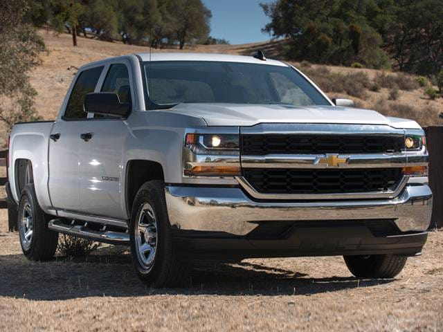 Best Safety Rated Trucks Of 2017 Chevrolet Silverado 1500 Crew Cab