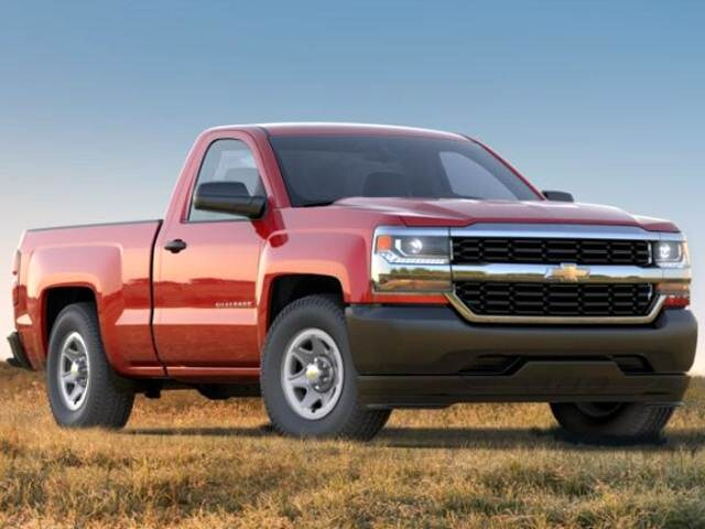 Best Safety Rated Trucks of 2017 - 2017 Chevrolet Silverado 1500 Regular Cab