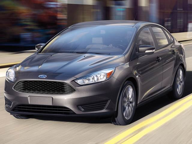 Most Popular Sedans of 2017 - 2017 Ford Focus