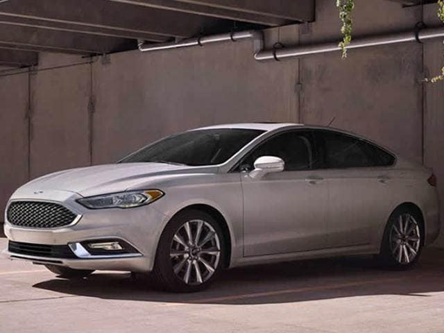 Most Popular Sedans of 2017 - 2017 Ford Fusion