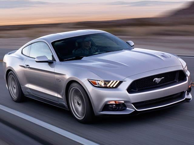 Most Popular Coupes of 2017 - 2017 Ford Mustang