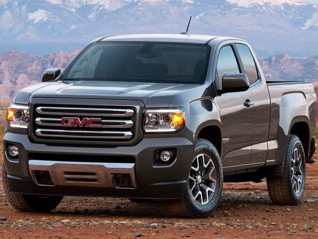 Most Fuel Efficient Trucks of 2017 - 2017 GMC Canyon Extended Cab