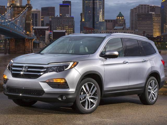 Best Safety Rated Crossovers Of 2017 Honda Pilot