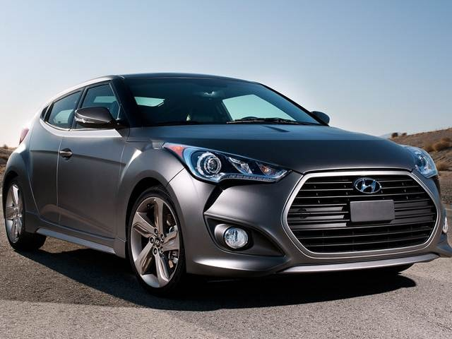 Most Popular Coupes of 2017 - 2017 Hyundai Veloster