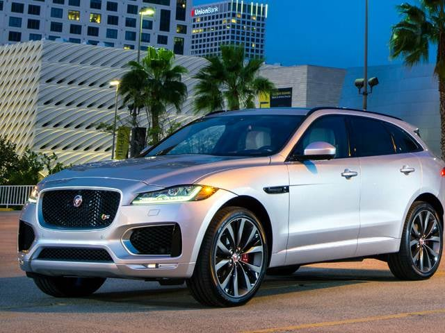 Most Fuel Efficient Crossovers of 2017 - 2017 Jaguar F-PACE