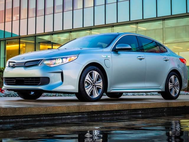 Best Safety Rated Hybrids of 2017 - 2017 Kia Optima Plug-in Hybrid