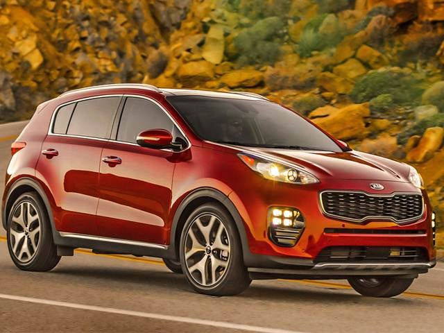 Best Safety Rated Crossovers Of 2017 Kia Sportage