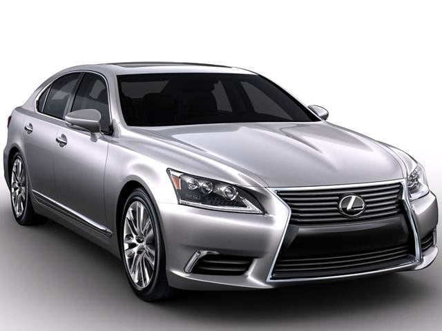 Most Popular Luxury Vehicles of 2017 - 2017 Lexus LS