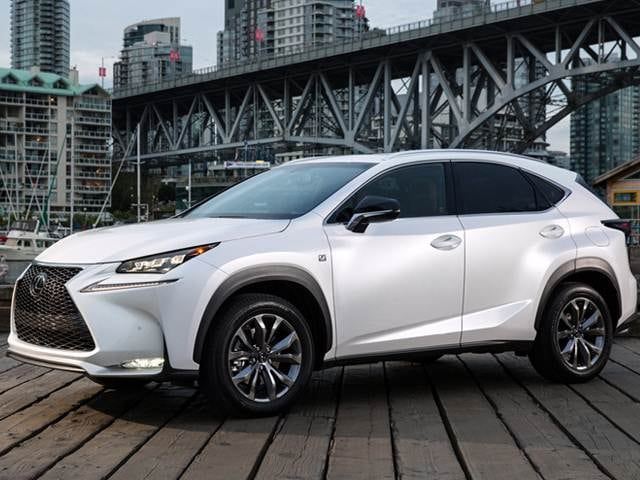 Best Safety Rated Suvs Of 2017 Lexus Nx