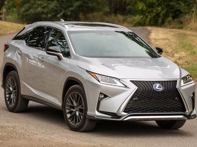 Most Fuel Efficient Crossovers of 2017 - 2017 Lexus RX